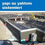 Yapı Su Yalıtım Sistemleri
